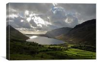 Wastwater, The Lake District, Canvas Print