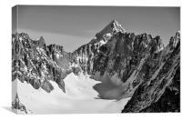 Mont Dolent, Chamonix, Canvas Print