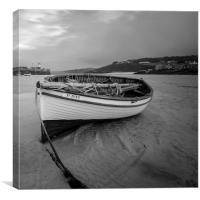 Saint Ives fishing boat, Canvas Print