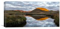 Reflections of Pillar, The Lake District, Canvas Print