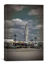 Ocean City NJ Ferris Wheel, Canvas Print