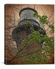 Currituck Light House, Canvas Print