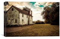 Old Stone House, Canvas Print