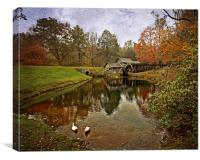 Reflections Of The Mill, Canvas Print