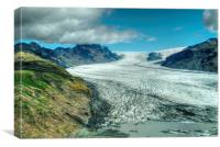 Vatnajökull National Park, Canvas Print