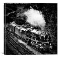 The Scarborough Flyer, Canvas Print