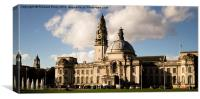Cardiff City Hall, Canvas Print