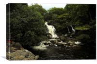 JST2567 Arklet Falls, Canvas Print