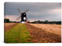 Windmill in the Chilterns , Canvas Print