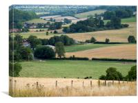 Stonor Valley, Oxfordshire, Canvas Print