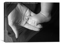 Nurture; Mother and Baby, Canvas Print