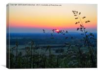 Sunset Kiss, Canvas Print