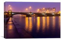 Nottingham Trent Bridge, Canvas Print