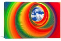 Slinky Vision, Canvas Print