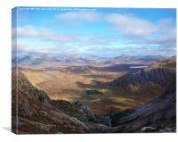 Beautiful Highlands !, Canvas Print