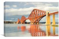 Forth Bridge !, Canvas Print