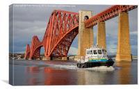 Forth Bridge 2, Canvas Print