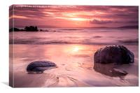 Sunset Seascape, Canvas Print