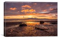 Arran View, Canvas Print