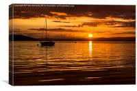 End of Day , Canvas Print