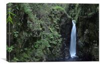 Eskdale Waterfall, Canvas Print