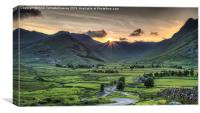 Langdales Valley, Canvas Print
