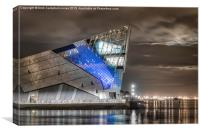 The Deep at Night - Hull, Canvas Print