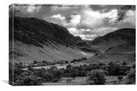 Mono Fells, Canvas Print