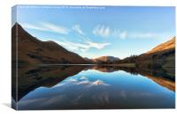Buttermere Reflections, Canvas Print