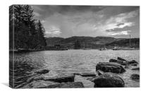 Loch Ness Boats, Canvas Print