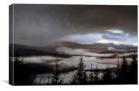 Highland Mists, Canvas Print