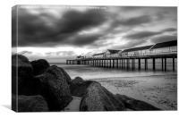 Southwold Pier at Dawn, Canvas Print