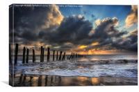Coastal Rays, Canvas Print