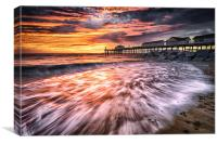 Southwold Fire, Canvas Print