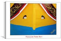 Marsaxlokk Boat, Canvas Print