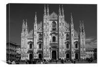 Duomo, Milan, Canvas Print