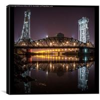 Newport Bridge, Canvas Print