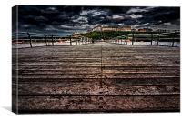 Saltburn Pier, Canvas Print