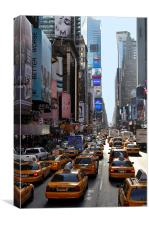 Times square New York, Canvas Print
