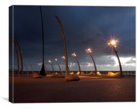 New Promenade, Canvas Print