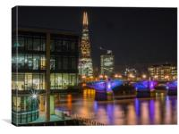 Southwark Bridge, Canvas Print