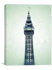 Blackpool Tower , Canvas Print