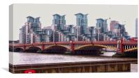 Vauxhall Bridge   , Canvas Print