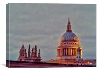 St Pauls Cathedral                                , Canvas Print