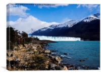 Glacier on the Horizon, Canvas Print