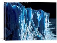 Glacier Warming, Canvas Print