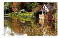 Aylesford, Autumn Colours, Canvas Print