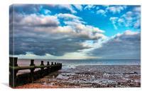 Isle of Grain, Beach View, Canvas Print