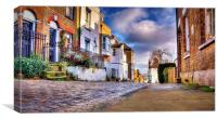 Upnor High Street, Kent, Canvas Print