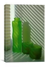 Green Green Glass, Canvas Print